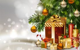 Раздаем подарки к Новому году