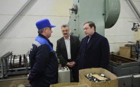 Алексей Островский ознакомился с работой предприятия «Юнипроф»