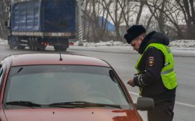 В январе на смоленских дорогах поймали 150 неплательщиков налогов