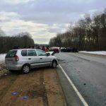 Ребенок и двое взрослых пострадали в ДТП в Смоленском районе