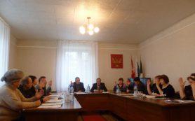 В Демидовском районе Смоленской области депутаты выбирали главу