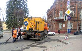 На пяти улицах Смоленска пройдёт ямочный ремонт