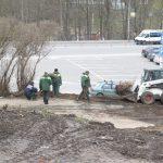 В Смоленске на Соборном холме убрали свалку
