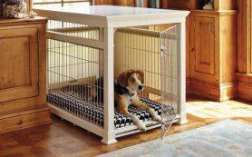 Клетки для собак в квартиру — как купить лучший вариант?