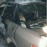 Под Смоленском в горящей иномарке было найдено тело мужчины