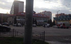 В Смоленске было оцеплено здание «Сбербанка»