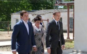 Губернатор посетил Рославльский район