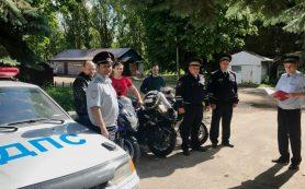Смоленские байкеры объединились с госавтоинспекторами