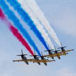 Пилотажная группа «Русь» выступит на международном авиакосмическом салоне