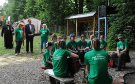 В Смоленской области проходил первый региональный Слет юных поисковиков