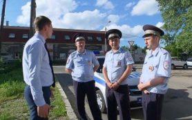 О смоленских сотрудниках ГИБДД, остановивших машину прокурора, рассказал федеральный телеканал