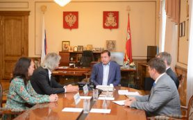 Алексей Островский встретился с руководством компании «Твое»