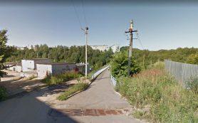 Мост возле школы№ 39 начали ремонтировать