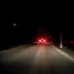 Очевидец снял на видео падение метеорита в Смоленске