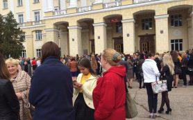В Смоленске день прошёл под знаком массовых эвакуаций