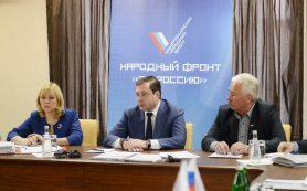 Губернатор встретился с активистами ОНФ