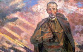 Картина, посвященная герою, погибшему под Смоленском, стала жемчужиной столичной выставки