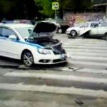 """В Сети появилось видео последствий """"полицейской аварии"""" в Смоленске"""