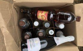 Полицейские пресекли сбыт контрафактной табачной и алкогольной продукции
