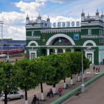 На белорусском направлении МЖД столкнулись поезд и «КамАЗ»