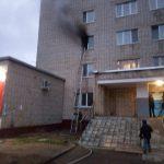 При пожаре в Смоленске пострадал мужчина