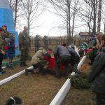 В Шумячах перезахоронили останки троих солдат, погибших в годы Великой Отечественной войны