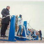 Спортивные тренажёры появились на набережной в Смоленске