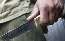 В Рославльском районе отец едва не зарезал сына ножом