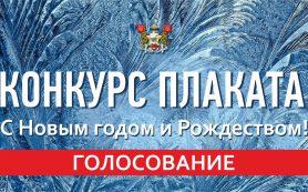 Началось интернет-голосование за лучший новогодний плакат