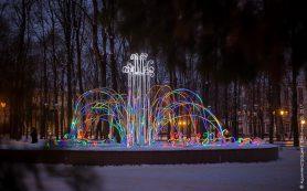 Новогоднее убранство Смоленска пострадало от вандалов