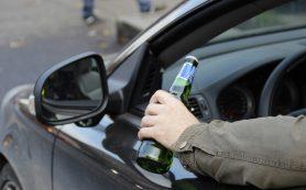 Сколько нетрезвых водителей остановили в Смоленской области