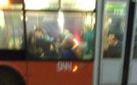 В Смоленске кондуктор наорала на ребенка, которого вырвало в троллейбусе