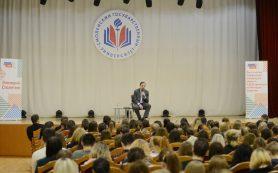 Алексей Островский пообщался со студентами