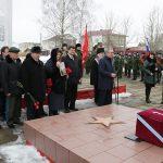 В Смоленской области предали земле останки лётчиков времён Великой Отечественной войны