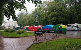 Смоленск – город рынков. Белорусская ярмарка добралась до площади Ленина