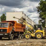 В Сортировке началось строительство новой спортивной площадки
