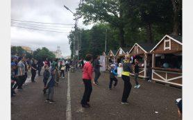 В Смоленске прошла выставка-ярмарка «В здоровом теле – здоровый дух!»