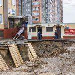 В Смоленске снесли незаконно построенный магазин