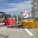 Смоленские огнеборцы провели пожарно-тактические учения на нефтебазе