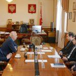 Алексей Островский встретился с министром транспорта Белоруссии Анатолием Сиваком