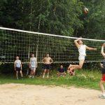 На Дубровенском озере состоялся турнир по пляжному волейболу