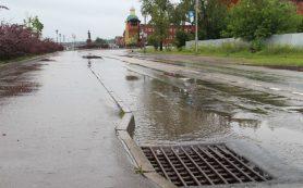В Смоленске ливнёвая канализация работает в штатном режиме