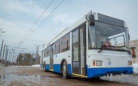 В Смоленске троллейбусы временно перестали следовать до «Шарма»