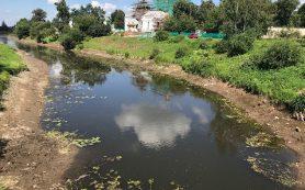 В Смоленской области обмелела река Гжать