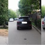 В Смоленске около школы № 2 появились «автохамы»