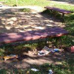 Детскую площадку на Ломоносова в Смоленске превратили в свалку