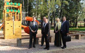 Губернатор Алексей Островский провел совещание по вопросам ввода в эксплуатацию Парка «Соловьиная роща»