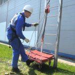 Испытание пожарных лестниц в Москве и МО: промышленная безопасность в действии