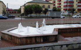 «Опять загадили фонтан». В Гагарине неизвестные устроили пенную вечеринку 3.09.2018 22:15