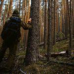 Смоленский алиментщик спрятался от пристава в лесу